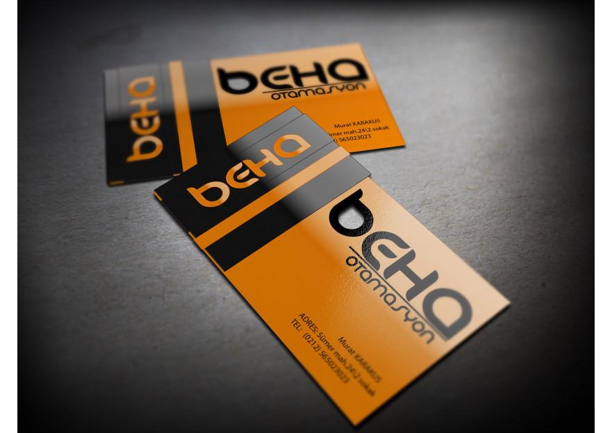 OTOMASYON FİRMASI İÇİN LOGO VE KARTVİZİT yarışmasına tasarımcı tugbaseyma89 tarafından sunulan  tasarım