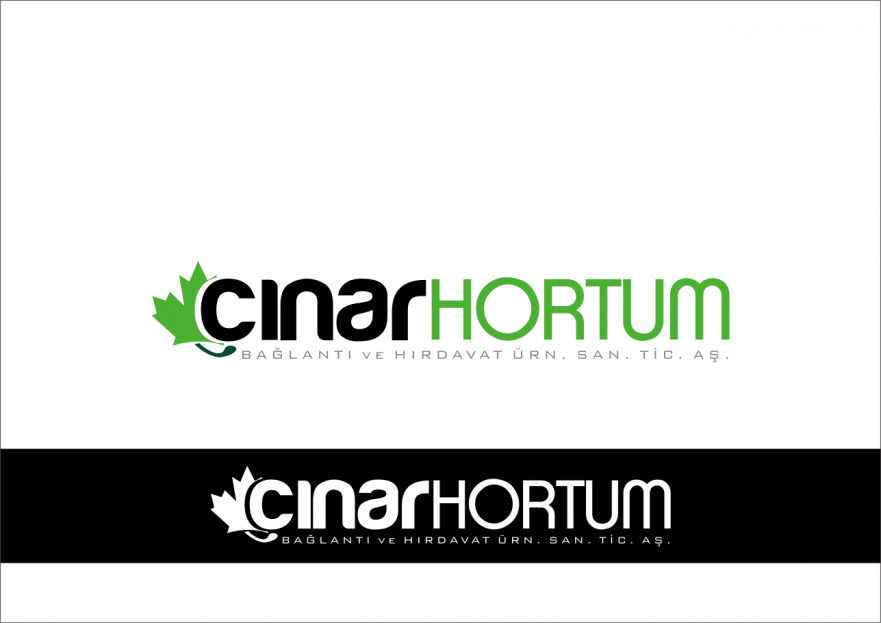 ÇINAR HORTUM LOGO VE KURUMSAL TASARIM yarışmasına tasarımcı RΛPİDO™ tarafından sunulan  tasarım