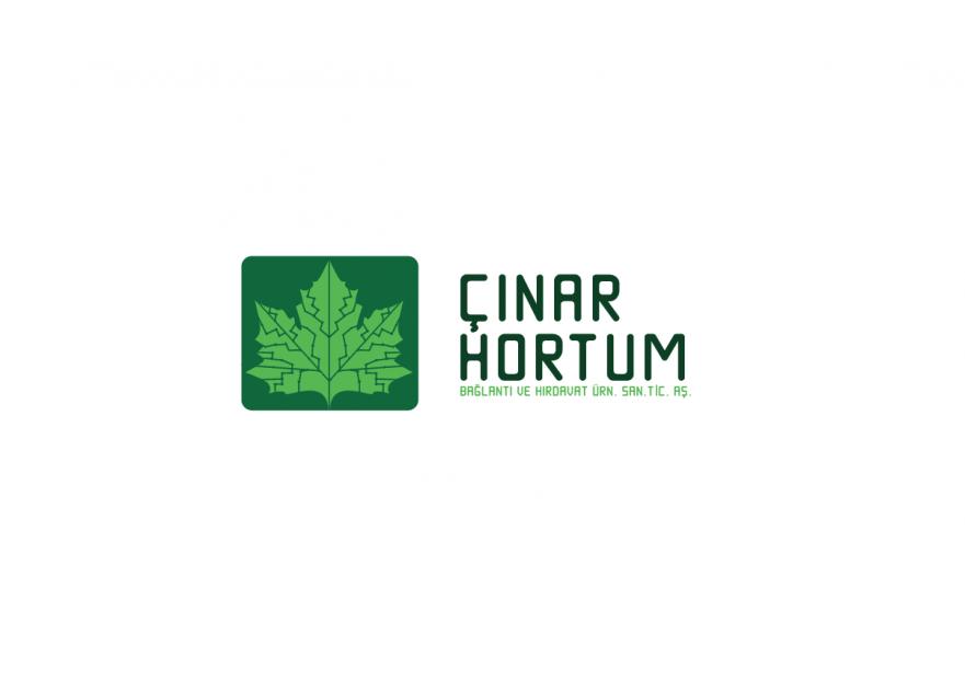 ÇINAR HORTUM LOGO VE KURUMSAL TASARIM yarışmasına tasarımcı meryemm tarafından sunulan  tasarım