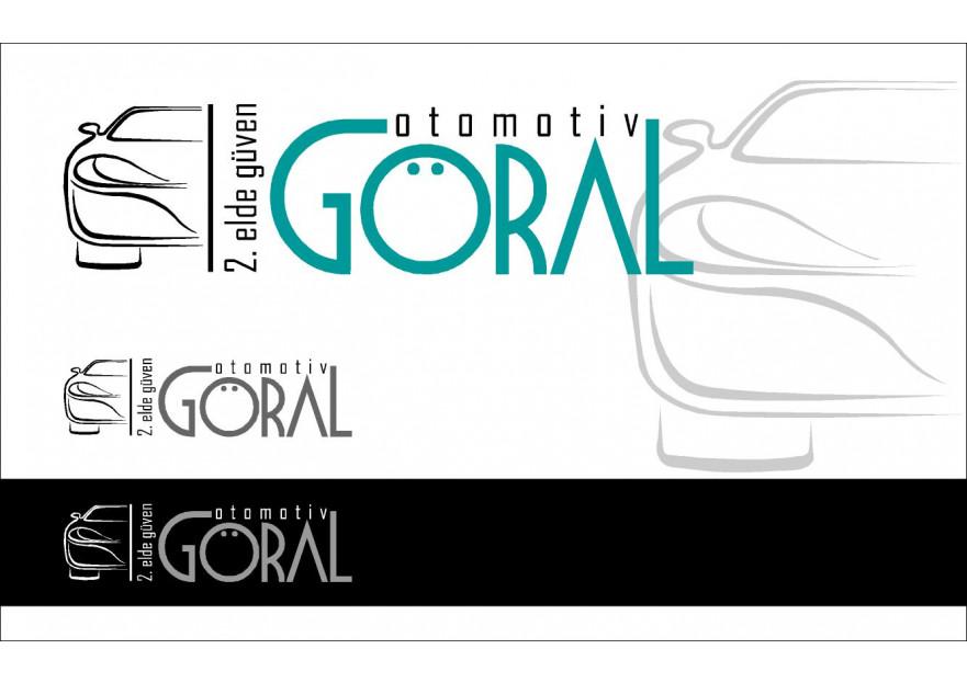 Göral 2.el Otomotiv yarışmasına tasarımcı logodekor tarafından sunulan  tasarım