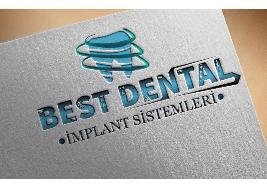 Best Dental Yeni logosunu arıyor yarışmasına tasarımcı masterking tarafından sunulan  tasarım