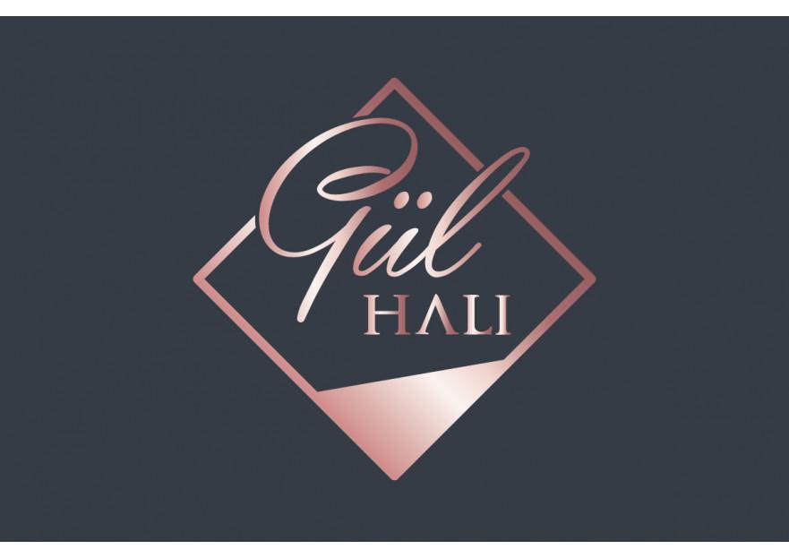 GÜL HALI icin kurumsal logo yarışmasına dilanbn tarafından girilen tasarım