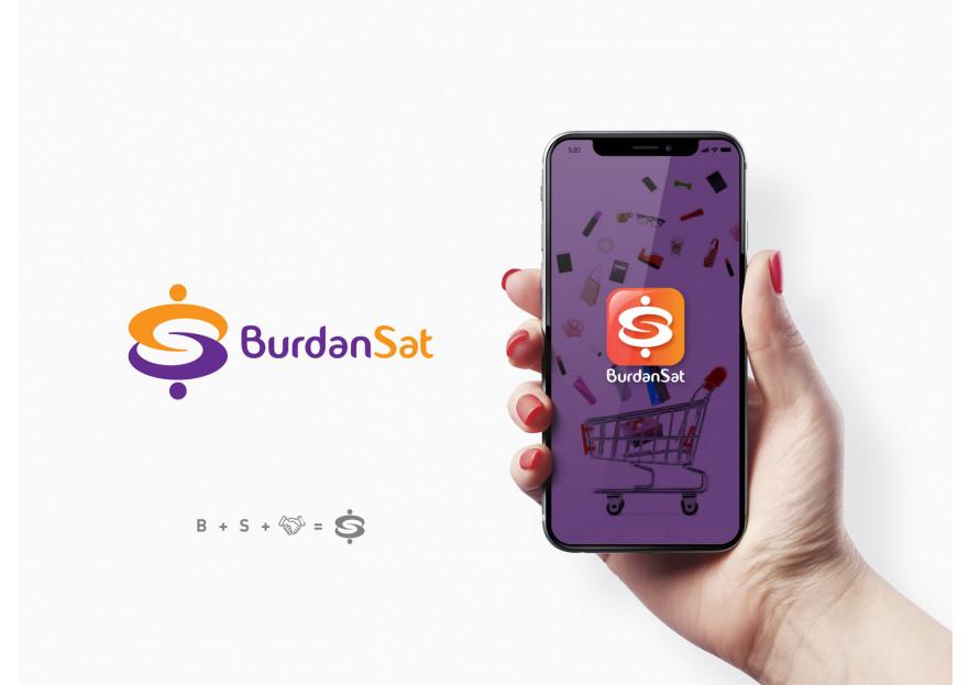 Burdansat.com yarışmasına Hello tarafından girilen tasarım