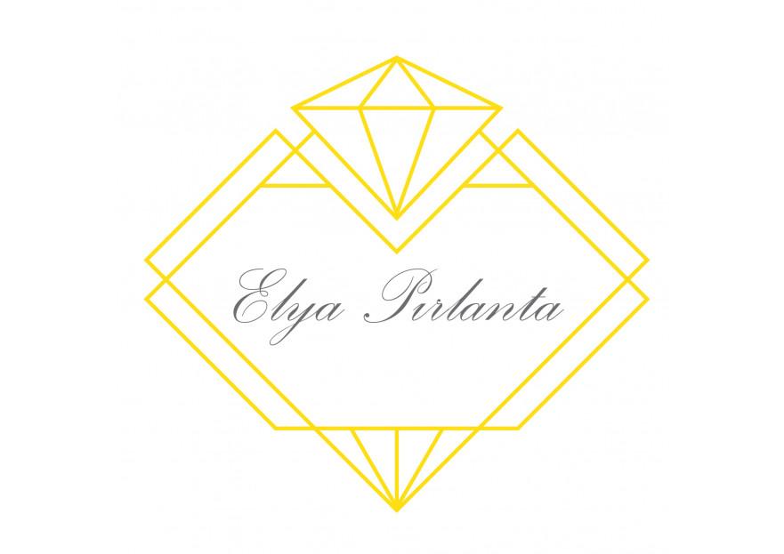 ELYA Pırlanta firması Logo tasarımı yarışmasına tasarımcı Asımipek57 tarafından sunulan  tasarım