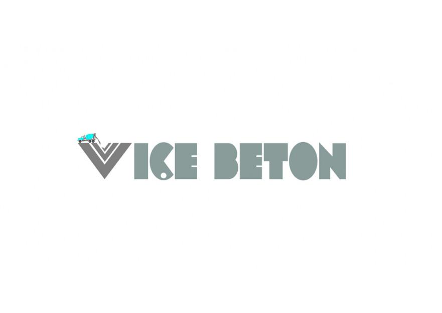 VİÇE BETON Logo Yarışması Başladı yarışmasına tasarımcı elektra™ tarafından sunulan  tasarım