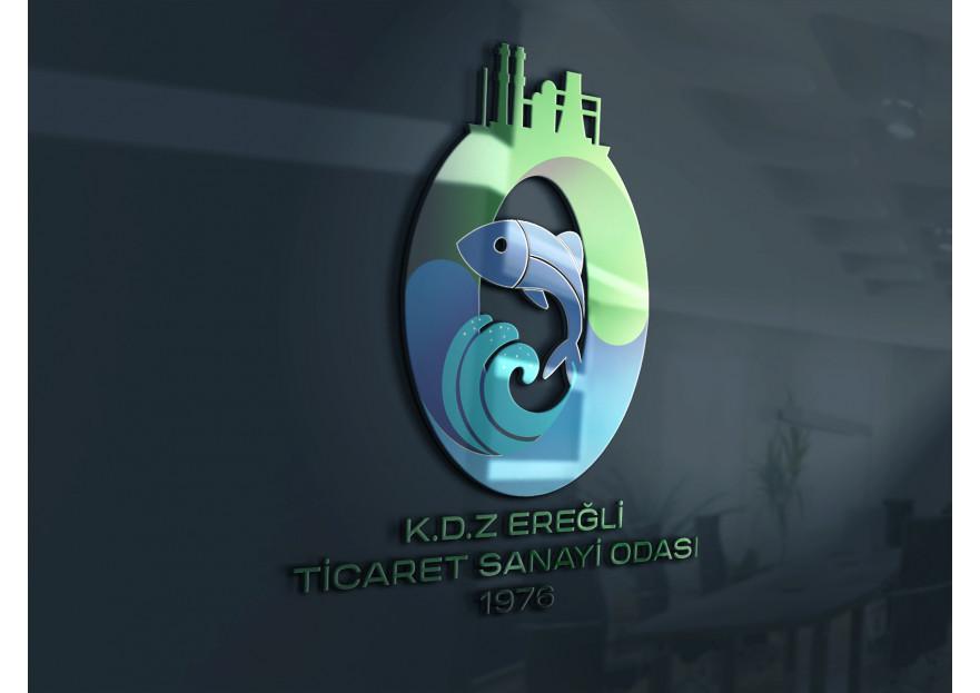 KDZ.EREĞLİ TİCARET VE SANAYİ ODASI LOGO  yarışmasına tasarımcı abycl tarafından sunulan  tasarım