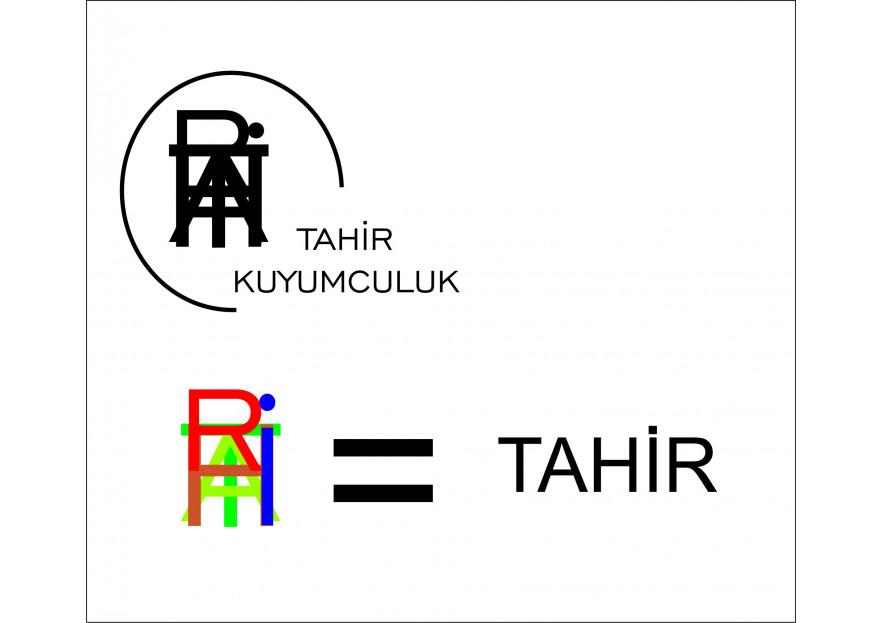 Kuyumcu Tahir -Farklı dikkat çeken logo  yarışmasına tasarımcı luebil tarafından sunulan  tasarım