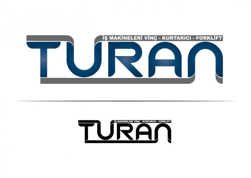 TURAN İŞ MAKİNELERİ LOGO TASARIMI yarışmasına Fuat_Ekemen tarafından girilen tasarım