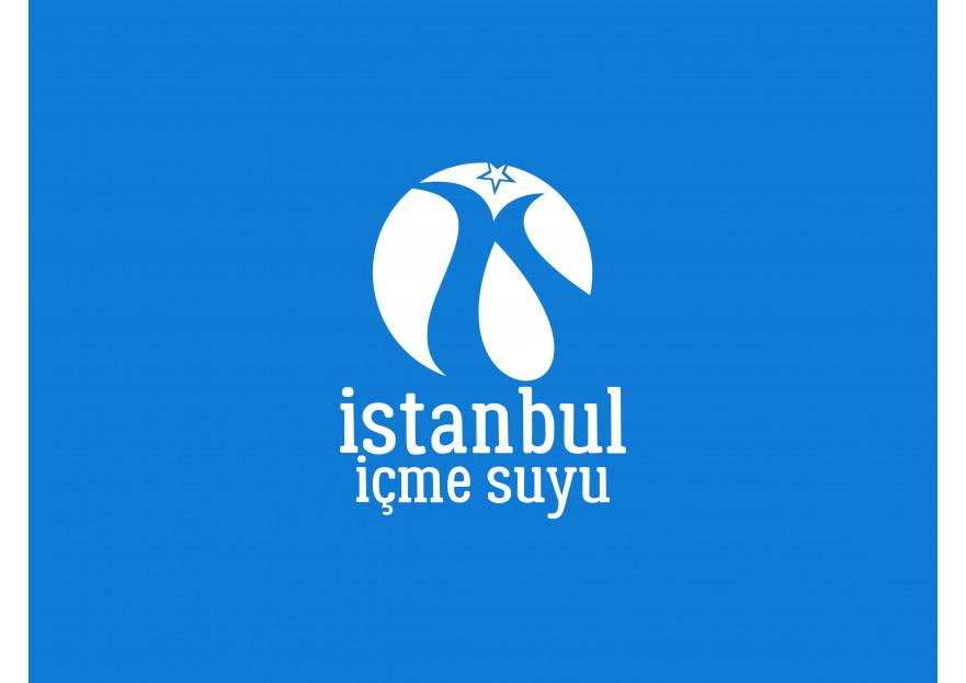 ''İstanbul İçme Suyu'' logosu yarışmasına tasarımcı emrhturhn tarafından sunulan  tasarım