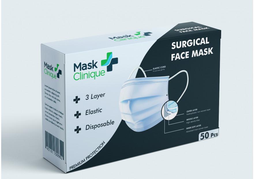 Premium Maske Kutu Dizaynı yarışmasına tasarımcı ficonsilion tarafından sunulan  tasarım