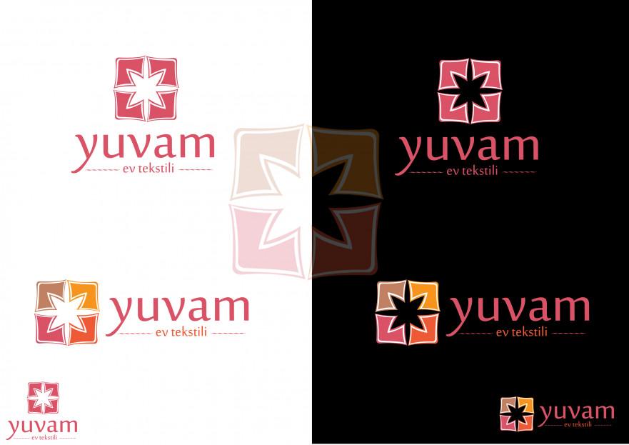 Ev Tekstili  Logo Tasarımı yarışmasına tasarımcı gumaje tarafından sunulan  tasarım