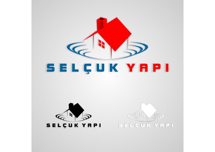SELÇUK Yapı Logo Tasarımı yarışmasına tasarımcı agrafikir tarafından sunulan  tasarım