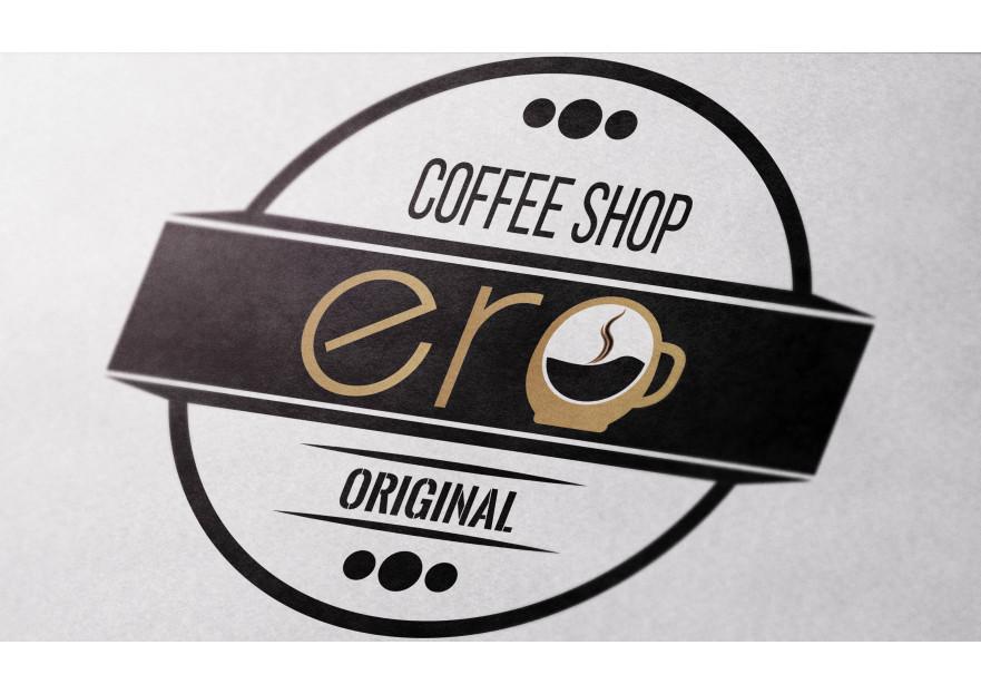 Kahve Dükkanı için Logo yarışmasına tasarımcı X85 tarafından sunulan  tasarım