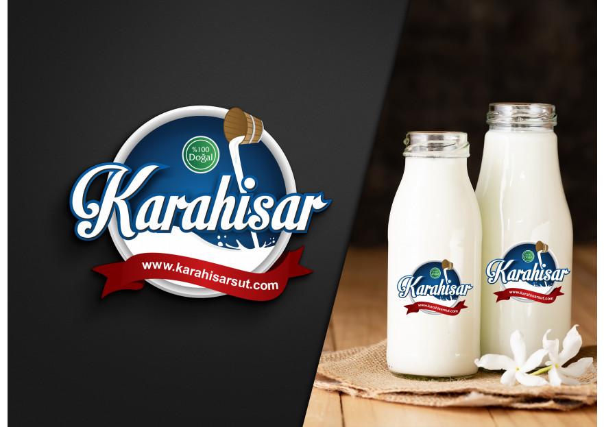 KARAHİSAR SÜT yarışmasına tasarımcı Harunyuksek tarafından sunulan  tasarım