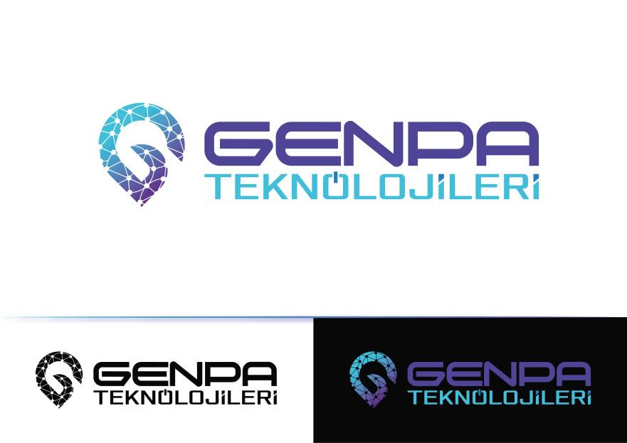 GENPA LOGOSUNU ARIYOR yarışmasına tasarımcı AlKoDesign tarafından sunulan  tasarım