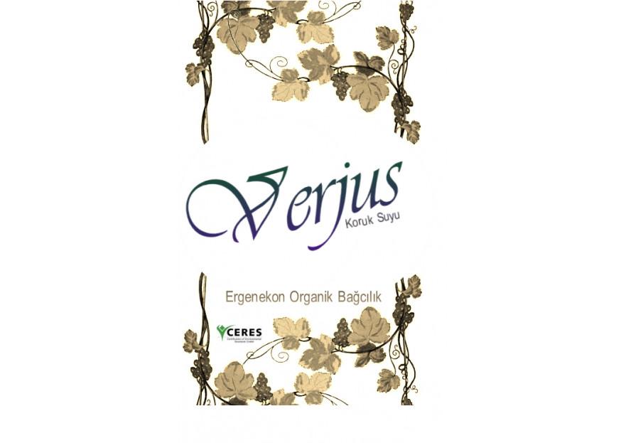Verjus yarışmasına tasarımcı Şen tarafından sunulan  tasarım
