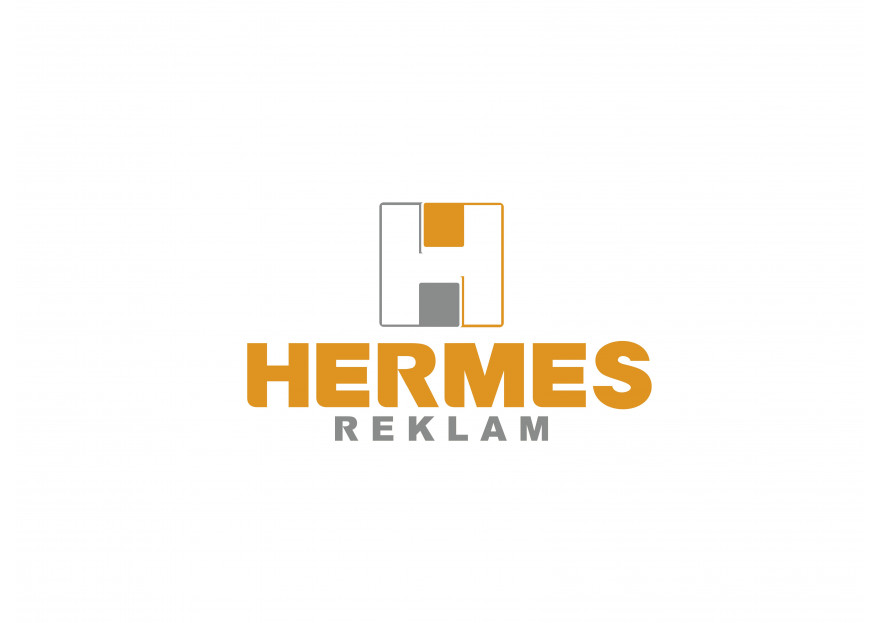 Hermes logo ve kurumsal kimlik yarışması yarışmasına tasarımcı barpek tarafından sunulan  tasarım