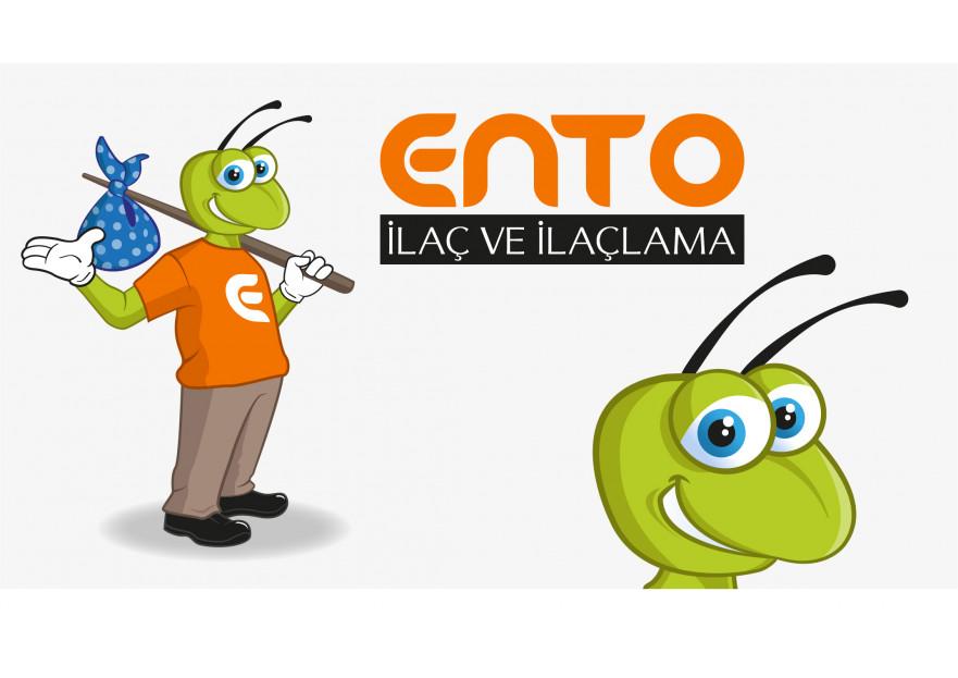 İlaçlama Firması İçin MASKOT yarışmasına volkanKocaman tarafından girilen tasarım