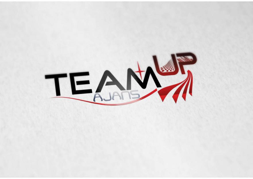 Team Up Ajans için logo tasarımı yarışmasına Enma tarafından girilen tasarım