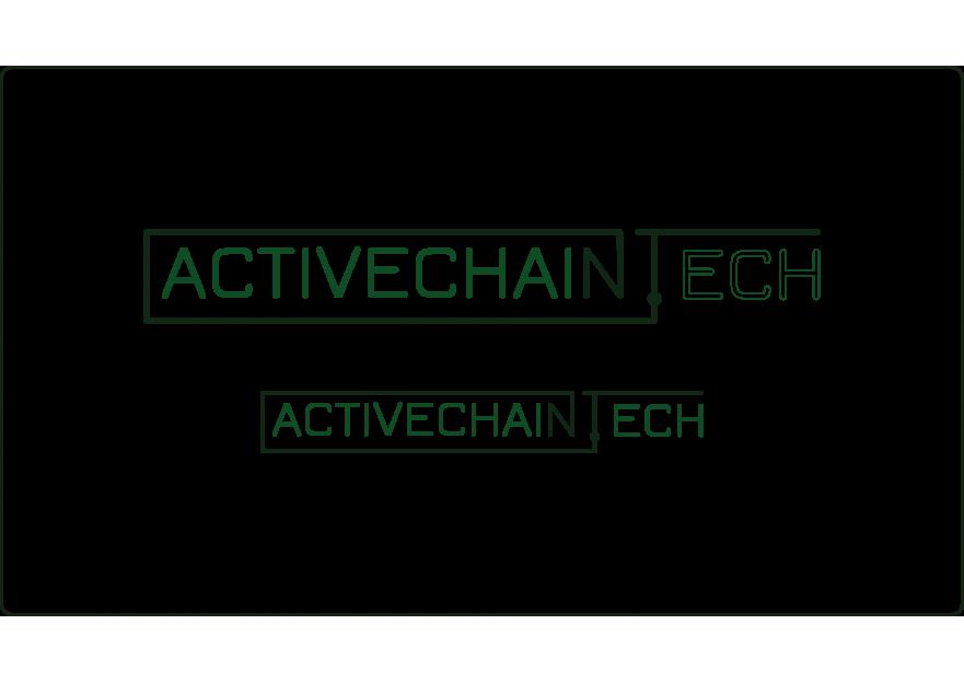 ActiveChain.tech Logo Yarismasi yarışmasına tasarımcı Artifice tarafından sunulan  tasarım
