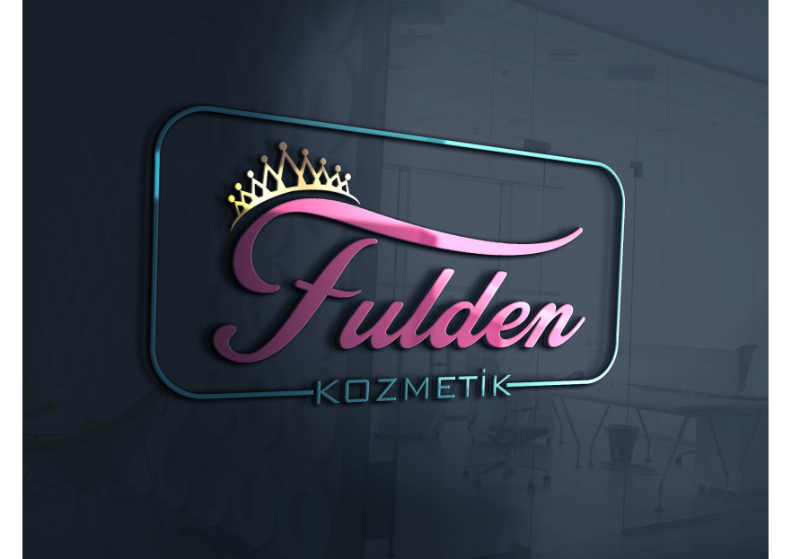Fulden Kozmetik Logosunu Arıyor yarışmasına huboz tarafından girilen tasarım