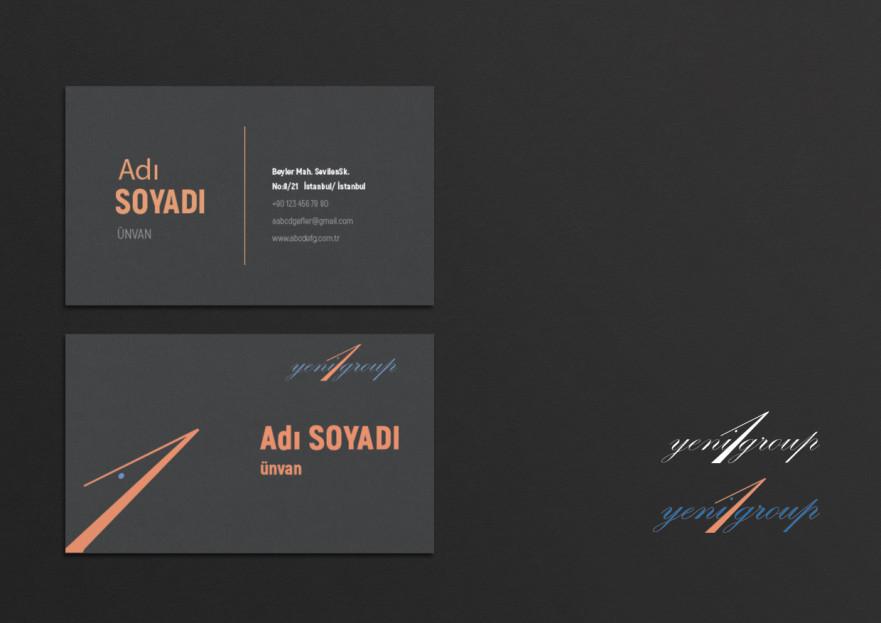 İnsan kaynakları için logo ve kartvizit  yarışmasına tasarımcı ARTuncay tarafından sunulan  tasarım