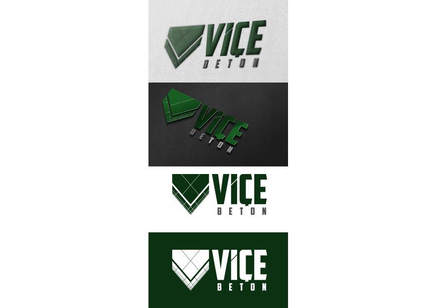 VİÇE BETON Logo Yarışması Başladı yarışmasına tasarımcı BilalKoc tarafından sunulan  tasarım
