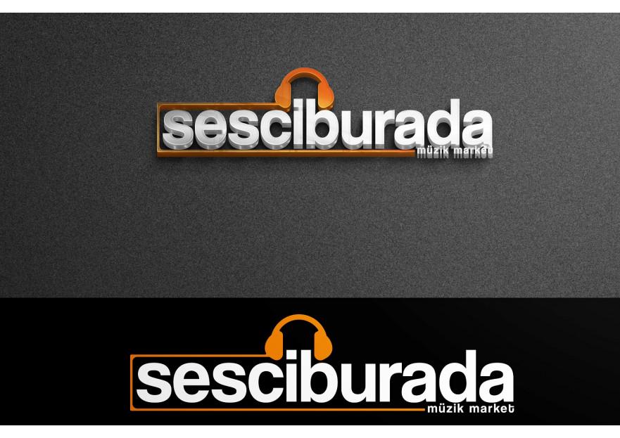 Sesciburada E-Ticaret sistemiz için logo yarışmasına tasarımcı Logoritma tarafından sunulan  tasarım