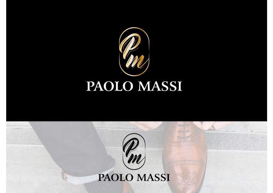 Erkek deri ayakkabı logo tasarımı yarışmasına tasarımcı kamran tarafından sunulan  tasarım