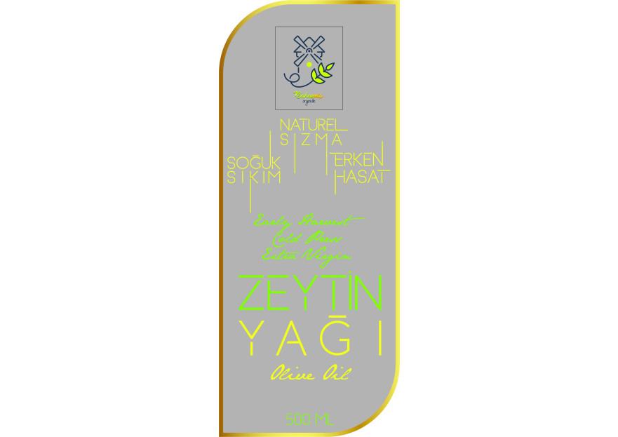 Yoresel, dogal urunler etiket tasarimi yarışmasına tasarımcı tanergrap tarafından sunulan  tasarım