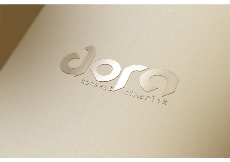 Dora Konsept Mimarlık Logosunu arıyor yarışmasına tasarımcı serbay tarafından sunulan  tasarım