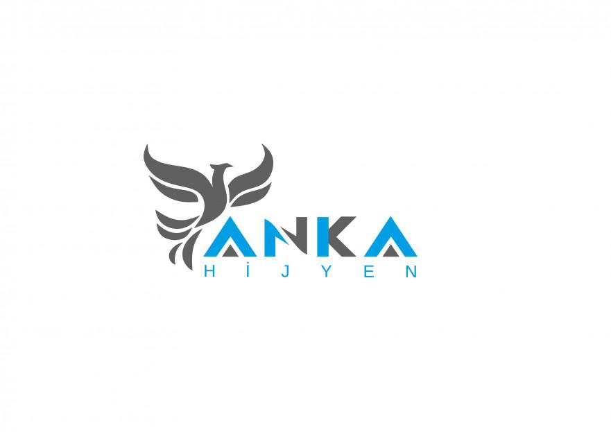 Anka Hijyen Firmamız İçin Logo İhtiyacı yarışmasına tasarımcı 48eylül tarafından sunulan  tasarım