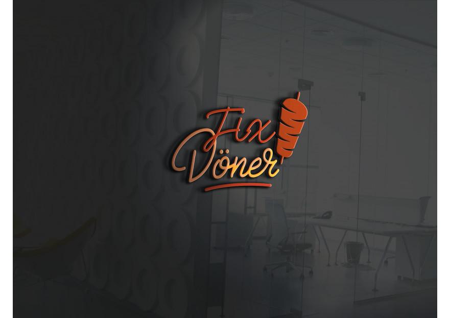 Fix Döner Logo Tasarım Yarışması yarışmasına ozencmelike tarafından girilen tasarım