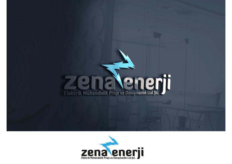 ZENA ENERJİ LOGO yarışmasına tasarımcı A.TalhaD tarafından sunulan  tasarım