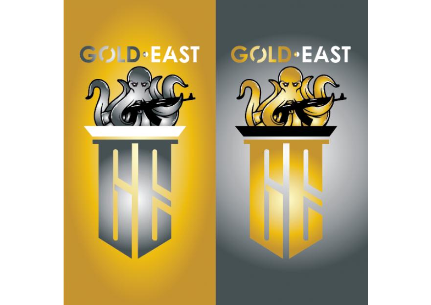 GoldEast Esport Counter Stike CsGo Logo yarışmasına AK• tarafından girilen tasarım