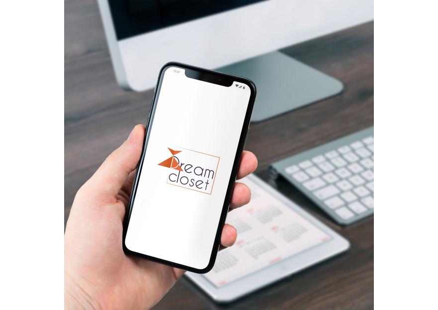 DreamCloset.net Logo yarışmasına tasarımcı fatfat tarafından sunulan  tasarım
