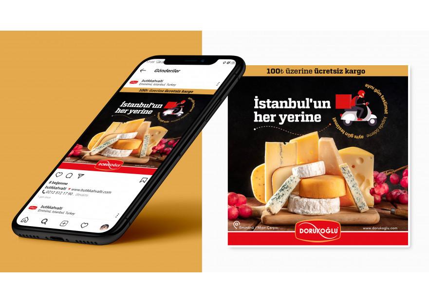 Sosyal Medya Reklam Tasarımı yarışmasına neharbalin tarafından girilen tasarım