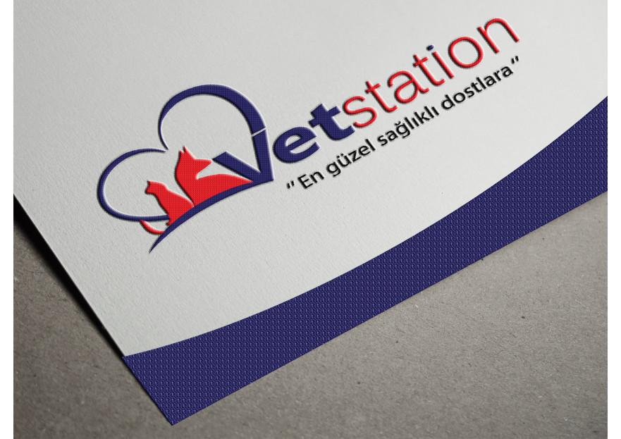 VET STATION VETERİNER KLİNİĞİ   LOGO  yarışmasına dream_design tarafından girilen tasarım
