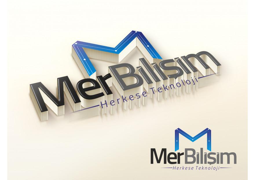 Bilişim Firmasına Logo Arıyoruz yarışmasına reklamadam tarafından girilen tasarım