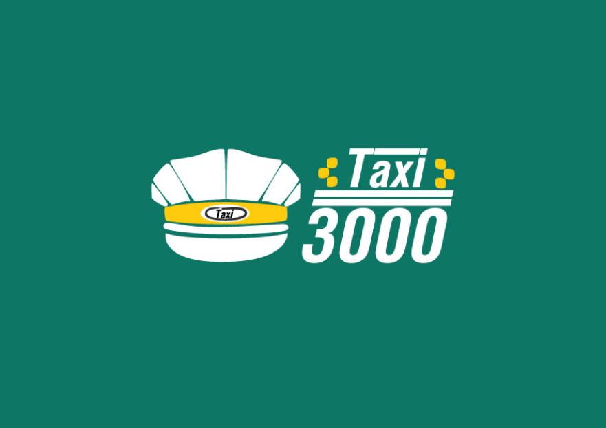 TAXI 3000      LOGO TASARIMI yarışmasına tasarımcı ARTuncay tarafından sunulan  tasarım