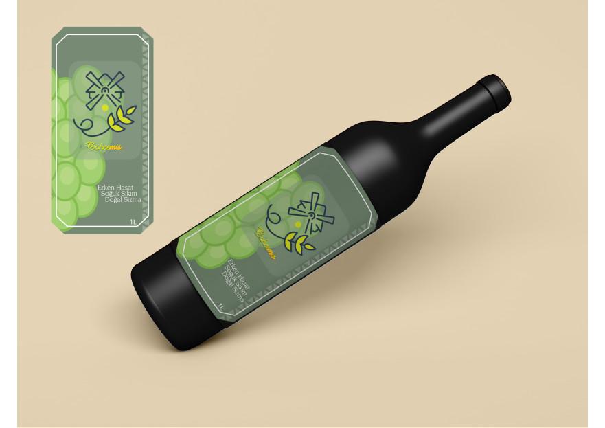 Yoresel, dogal urunler etiket tasarimi yarışmasına tasarımcı boryfreelance tarafından sunulan  tasarım