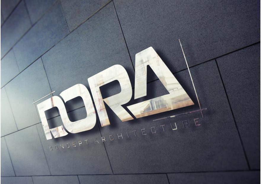 Dora Konsept Mimarlık Logosunu arıyor yarışmasına tasarımcı RΛPİDO ™ tarafından sunulan  tasarım