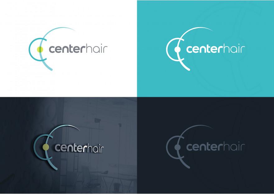 Uluslararası Saç Ekim Merkezi için Logo yarışmasına Hello tarafından girilen tasarım