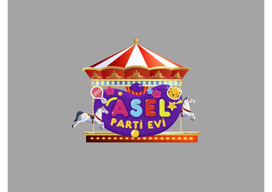 çocuk parti evi yarışmasına tasarımcı abycl tarafından sunulan  tasarım