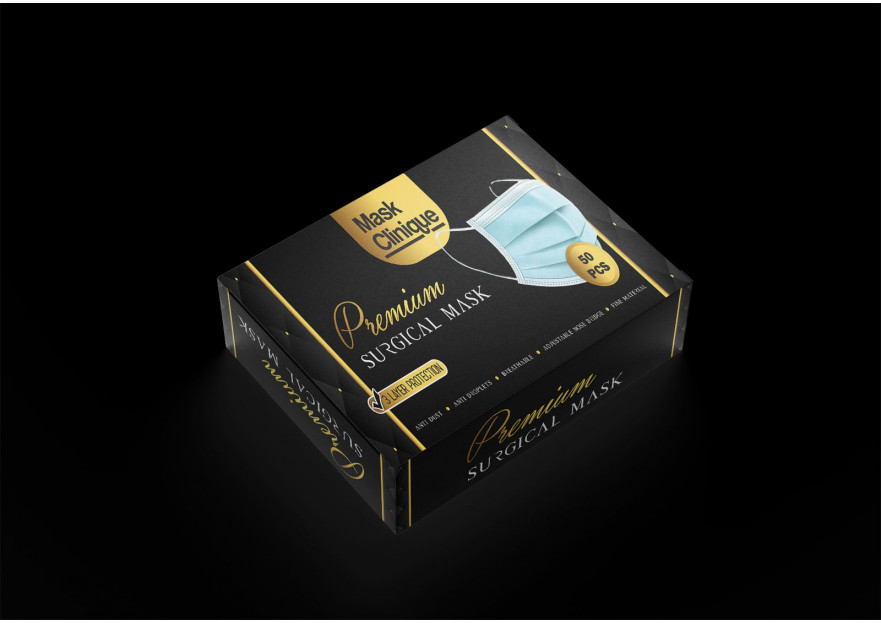 Premium Maske Kutu Dizaynı yarışmasına tasarımcı ELORA DESIGN tarafından sunulan  tasarım