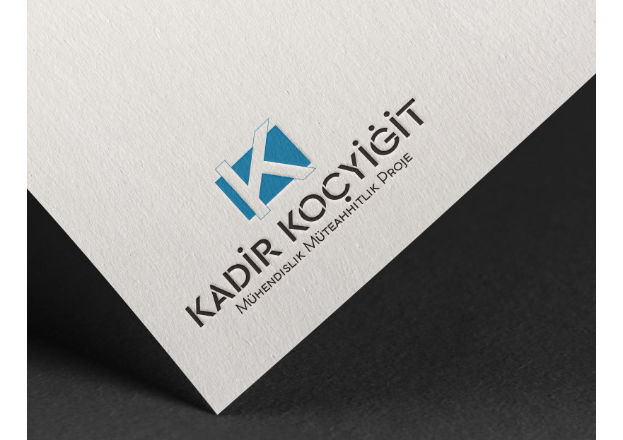 Şirketim için logo desteği (Kadir Koçyiğit) yarışmasına ekceen  tarafından girilen tasarım