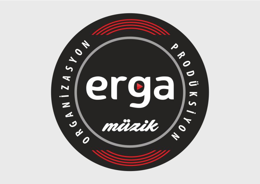 erga müzik logosunu arıyor yarışmasına SCimen tarafından girilen tasarım