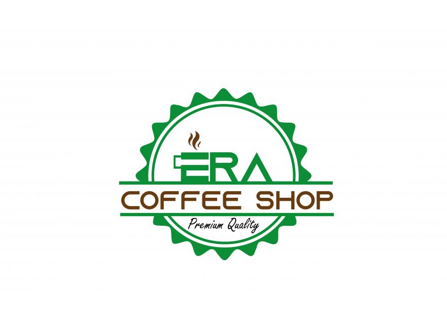 Kahve Dükkanı için Logo yarışmasına tasarımcı mehmetmms tarafından sunulan  tasarım