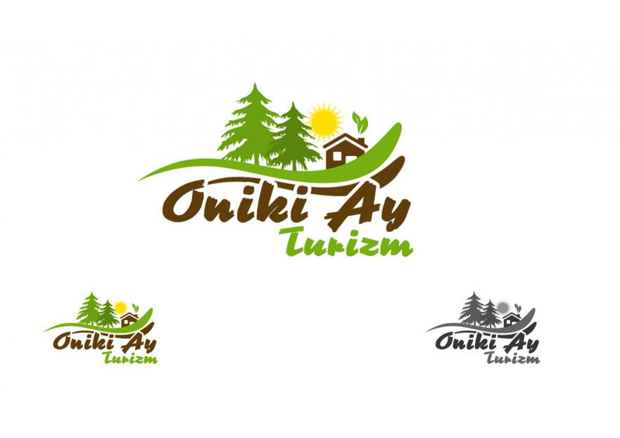 oniki ay ( 12 ay ) turizm logo çalışması yarışmasına tasarımcı utku2002 tarafından sunulan  tasarım