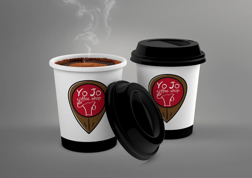 Kahveci Logosu yarışmasına tasarımcı gnc_s tarafından sunulan  tasarım